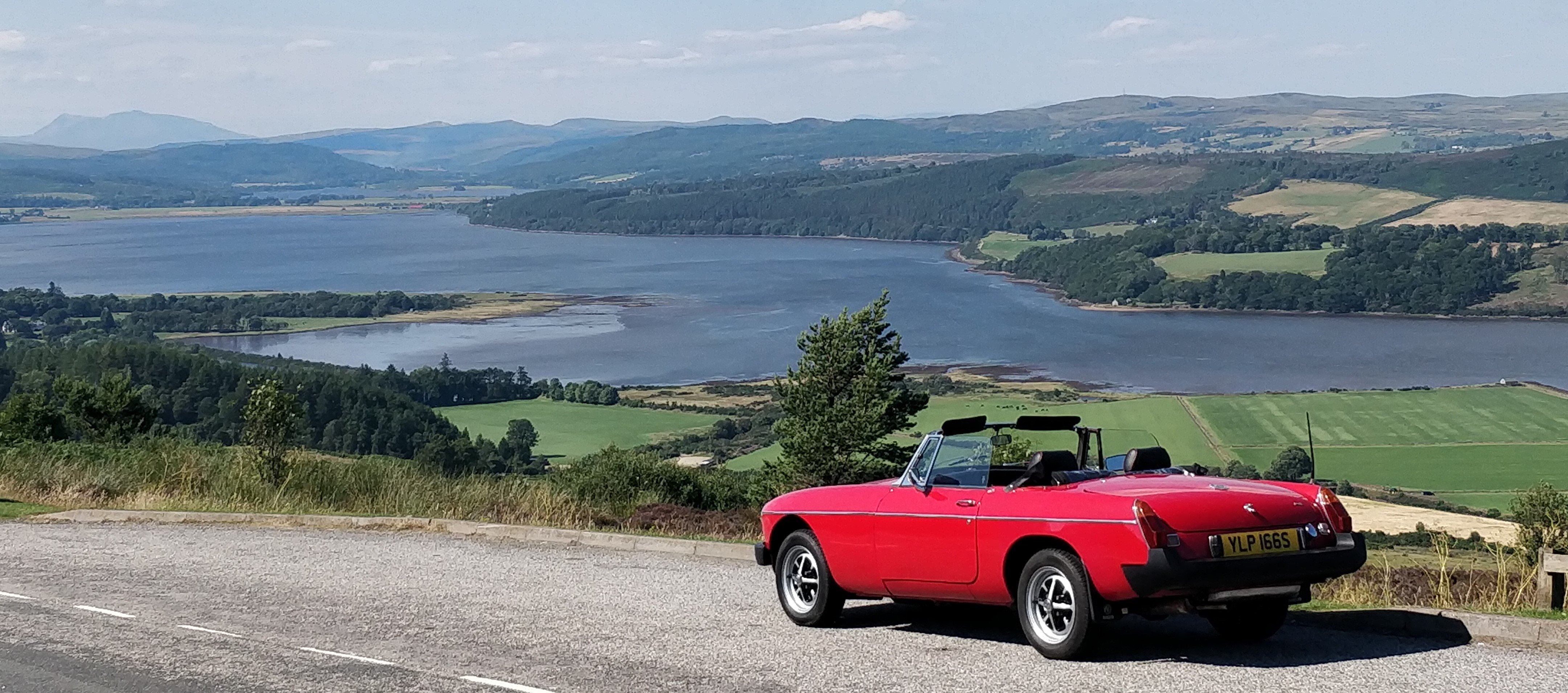 MGB Roadster for self drive hire